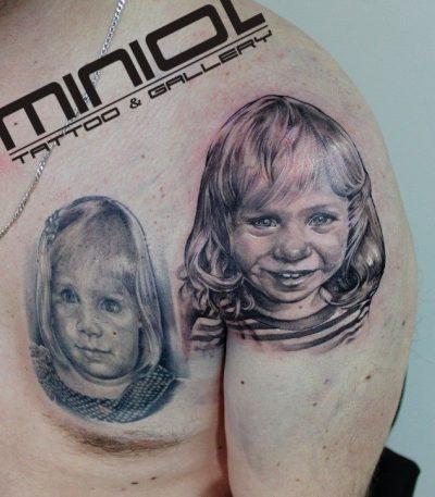 Dominik Basnyk - salon tatuażu Miniol - Sieradz