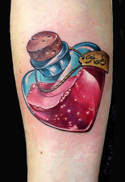 Miniol salon tatuażu Sieradz - Dominik