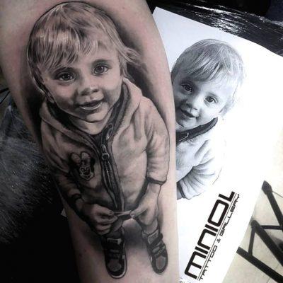Dominik- salon tatuażu Miniol Sieradz