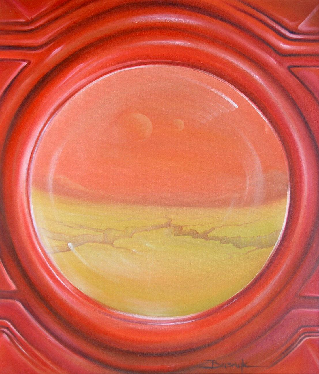 Olej na płótnie 100x81, 2003